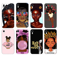 Good Quality Print Make Your Own Design Black People Phone Cases For iPhone X, Custom Soft Case