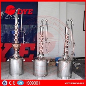 home stainless steel boiler alcohol distillation from still 50L / 100L