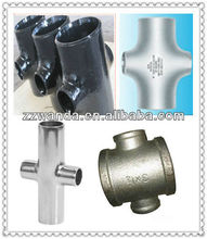 pipe fitting seamless reducing cross,carbonsteel seamless pipe,seamless carbon steel pipe