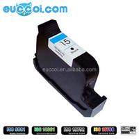 H-15 (C6615D) Pigment black remanufactured inkjet cartridges for HP inkjet printer