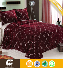 Cheap Price Wholesale Microfiber Designs For Printedused hotel bed sheets