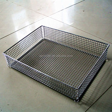 Stainless Steel Wire Mesh Round Basket Wholesale, Stainless Steel ...