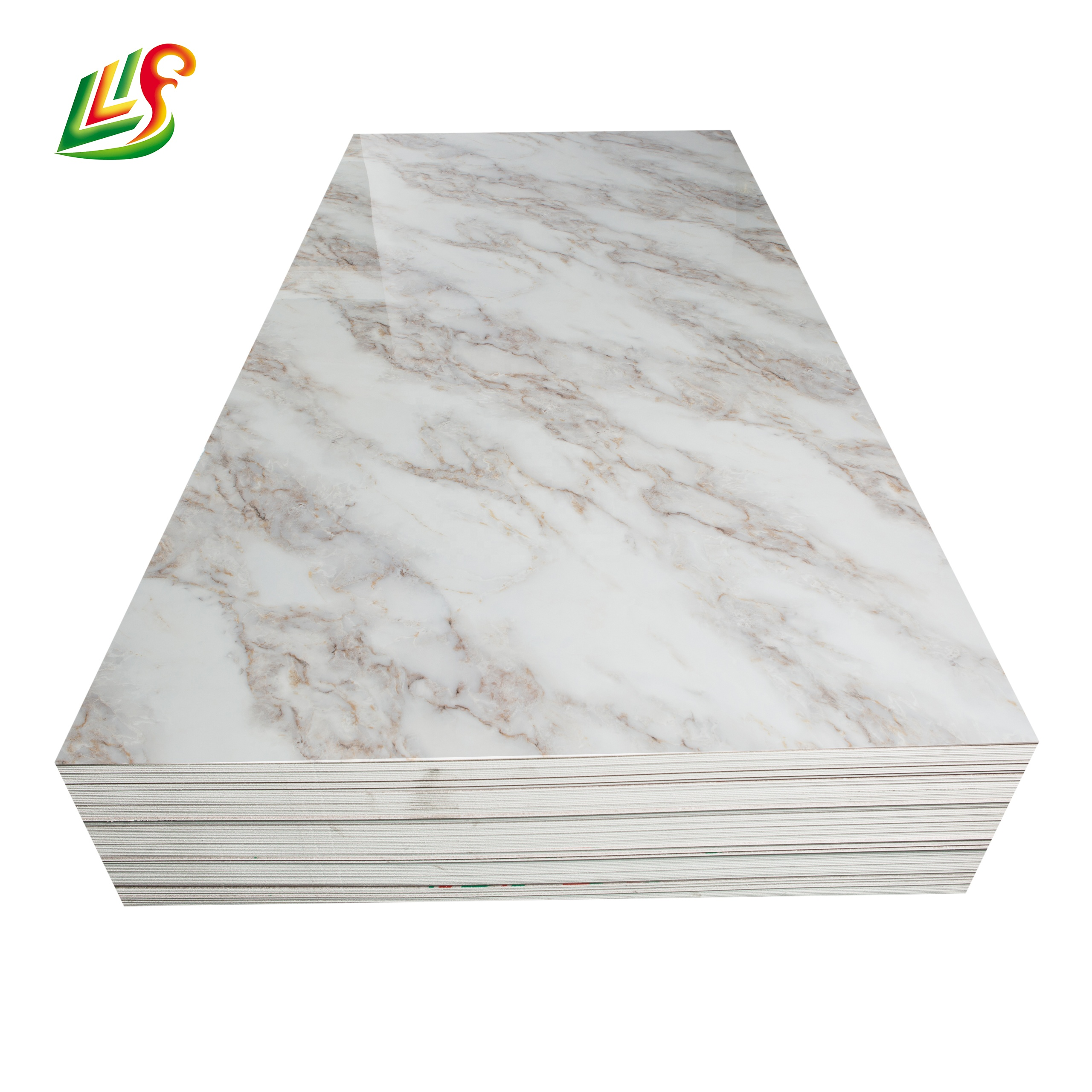 35% <strong>Pvc</strong>, 62% Caco3, 3% Additive. Composition and 2.0g/cm^3. Density chinese marble tiles for Saudi Arabia