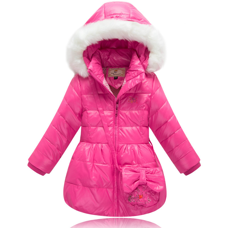 Buy New Arrival Girls Winter Hooded Down Coats Kids Fashion Brand ...