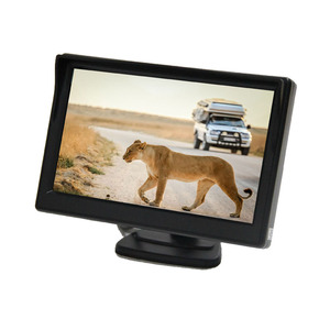 "DC 12V/29V Wide Screen 5"" Digital LCD Monitor with 2 AV inputs"