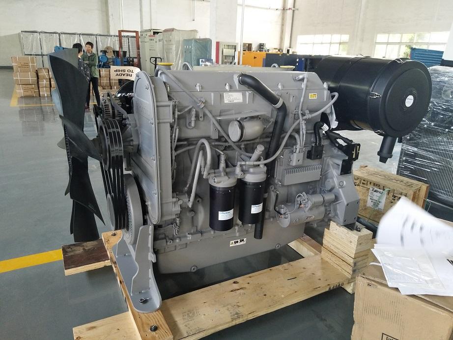 60 hz EPA approvato motore 2206D-E13TAG2 generatore diesel 250 kw