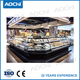 New style curved glass lid deli commercial refrigeration for hypermarket