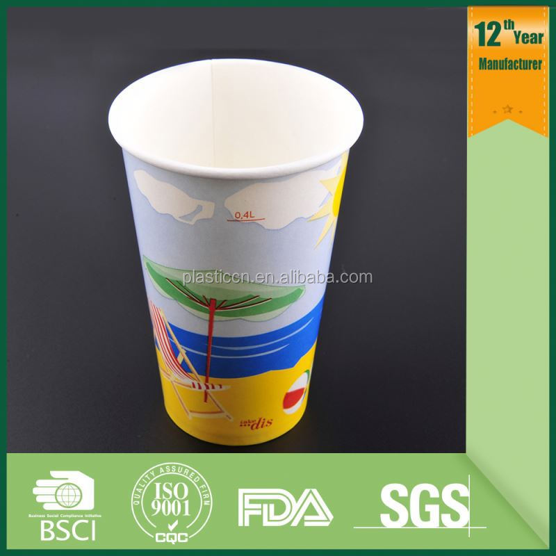 gelato paper cup/ paper coffee cups with lids/ disposable cups for hot drinks