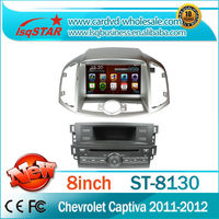 LSQ star wholesaler dropshipper with factory price Fit for Chevrolet Captiva 2011-2012 auto dvd radio with gps