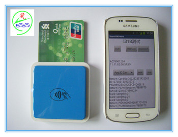 Msr+ Emv+ Nfc Mini 123 Card Reader For Android & Ios - Buy Nfc Emv Card  Reader,Mini123ex,Mini 123 Sc Product on Alibaba com