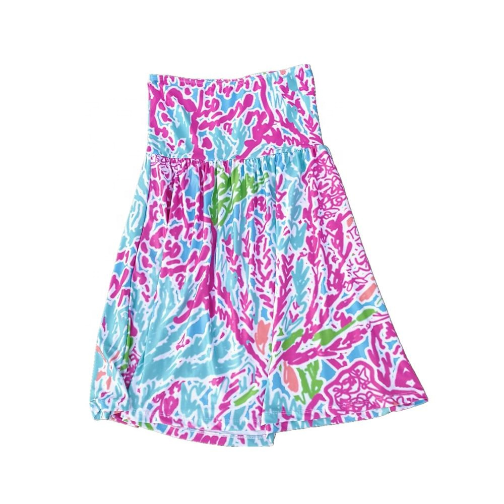 Wholesale Monogram Hot Sale Women Lilly Inspired Strapless Dress фото