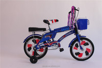 Wholesale 16 inch steel children bicycle with blue colour