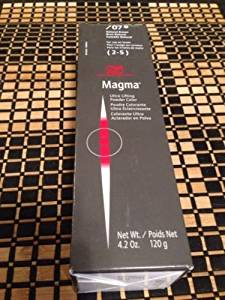 Wella Magma Ultra Profesional Lifting Powder Color 4.2 Oz 120g /07 for Use on Levels 2-5