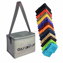 Beer Custom Cooler Full Color Print Non Woven PP 6 Can Cooler Bag