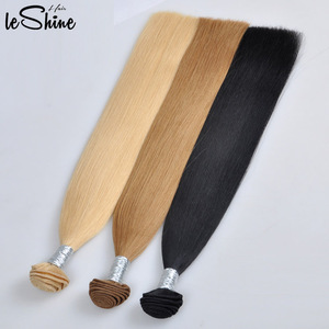 Top Grade Double Drawn Machine Sew In 613 Russian Human Hair Bundles Cheap Sale