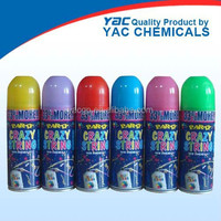 non-Flammable Color Silly String Spray / Party Crazy String