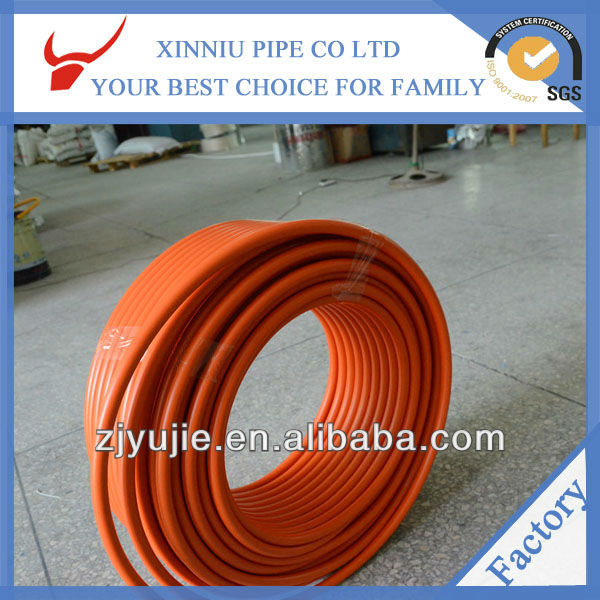 High quality products heating system china manufacturer plastic transparent flexbile pipe
