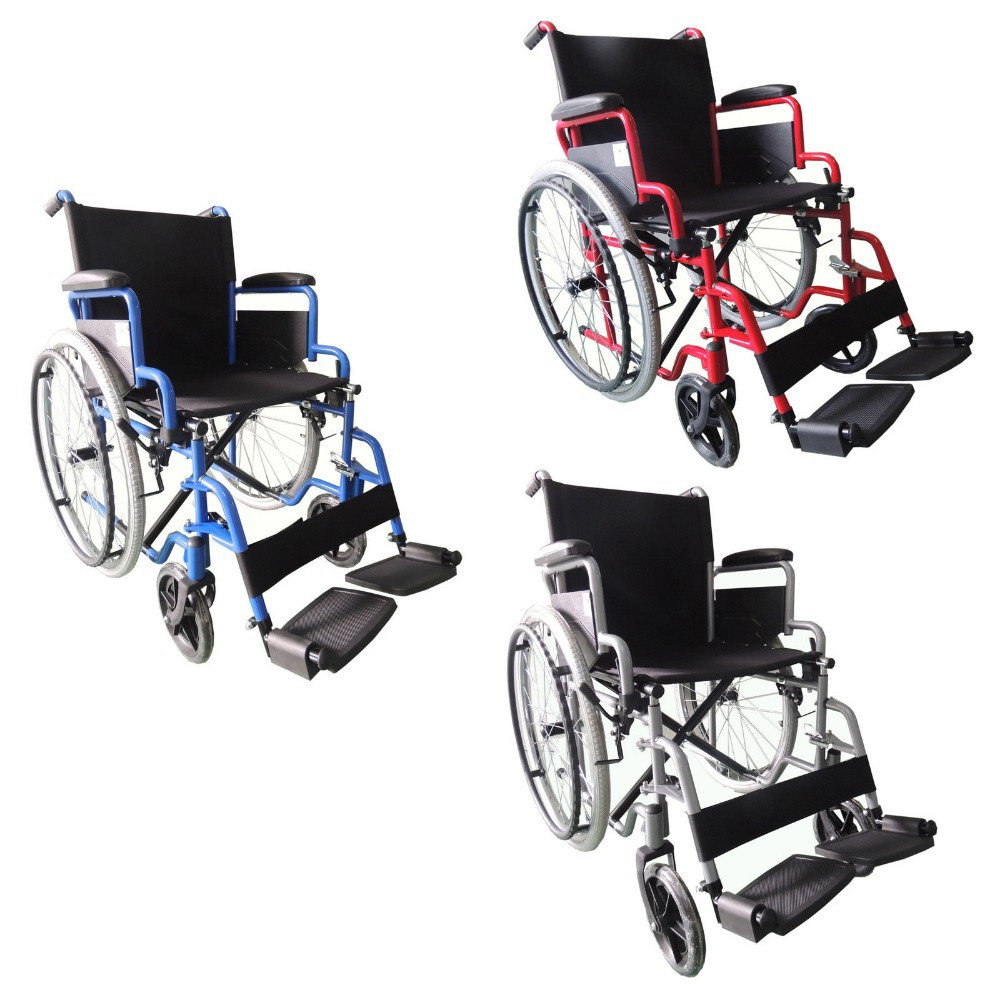 Chrome wheelchair, manual power wheelchair with best price