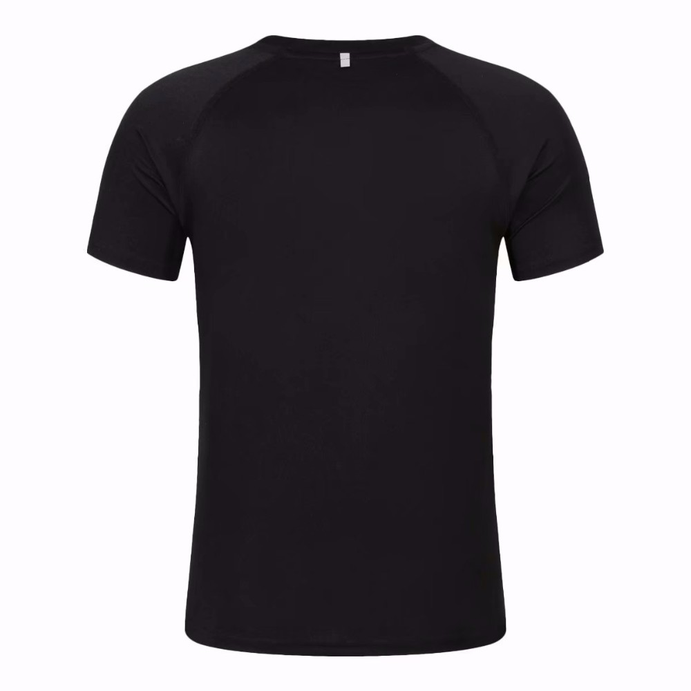 Custom Athletic Fit Mens Fashion Gym Quick Dry T Shirt With Mesh