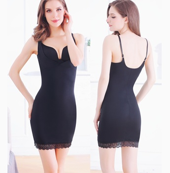 Dress Slips for Women Under Dresses Long Cami Full Slip Shapewear Seamless Body Shaping