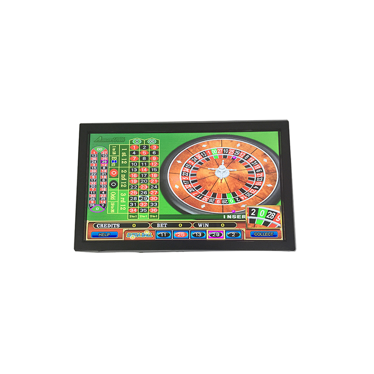 21.5 Inch Infrared Touch Gambling Machine Monitor with LED Marquee Lighting, N/a