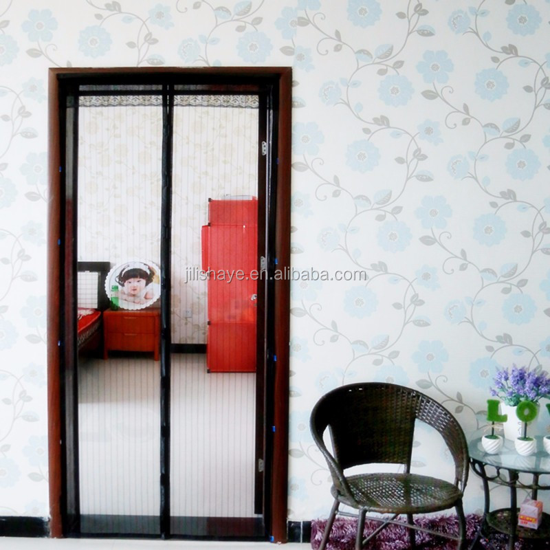 the classical product preventing mosquitoes soft screen door magnetic
