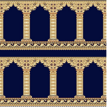 Hot Sale Polyester Mosque Prayer Carpet