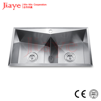 Jiaye Stainless Steel Single/double Bowl Kitchen Sink For Home Jy ...