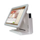 "Factory direct sales 15"" all in one touch POS terminal/Cash register with free POS software POS1618"