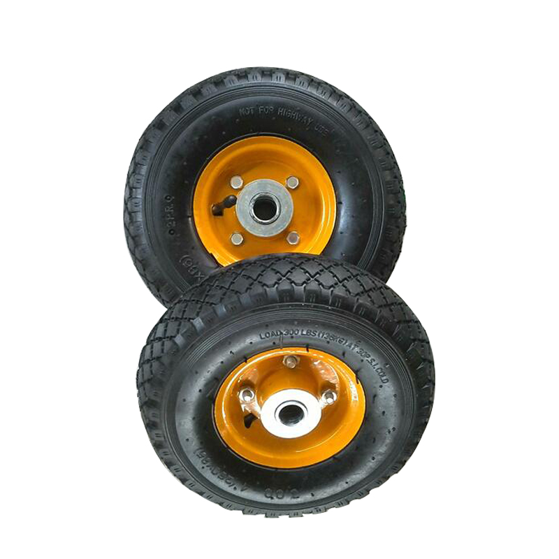 high quality 3 inch solid small rubber wheels