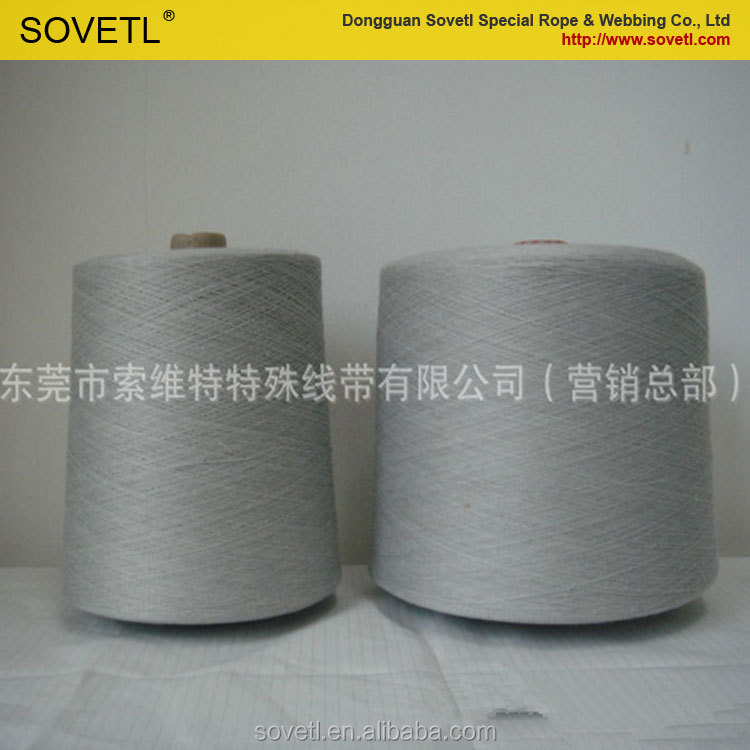 Colorful silver coated conductive yarn for knitting touch screen gloves from china manufacturer