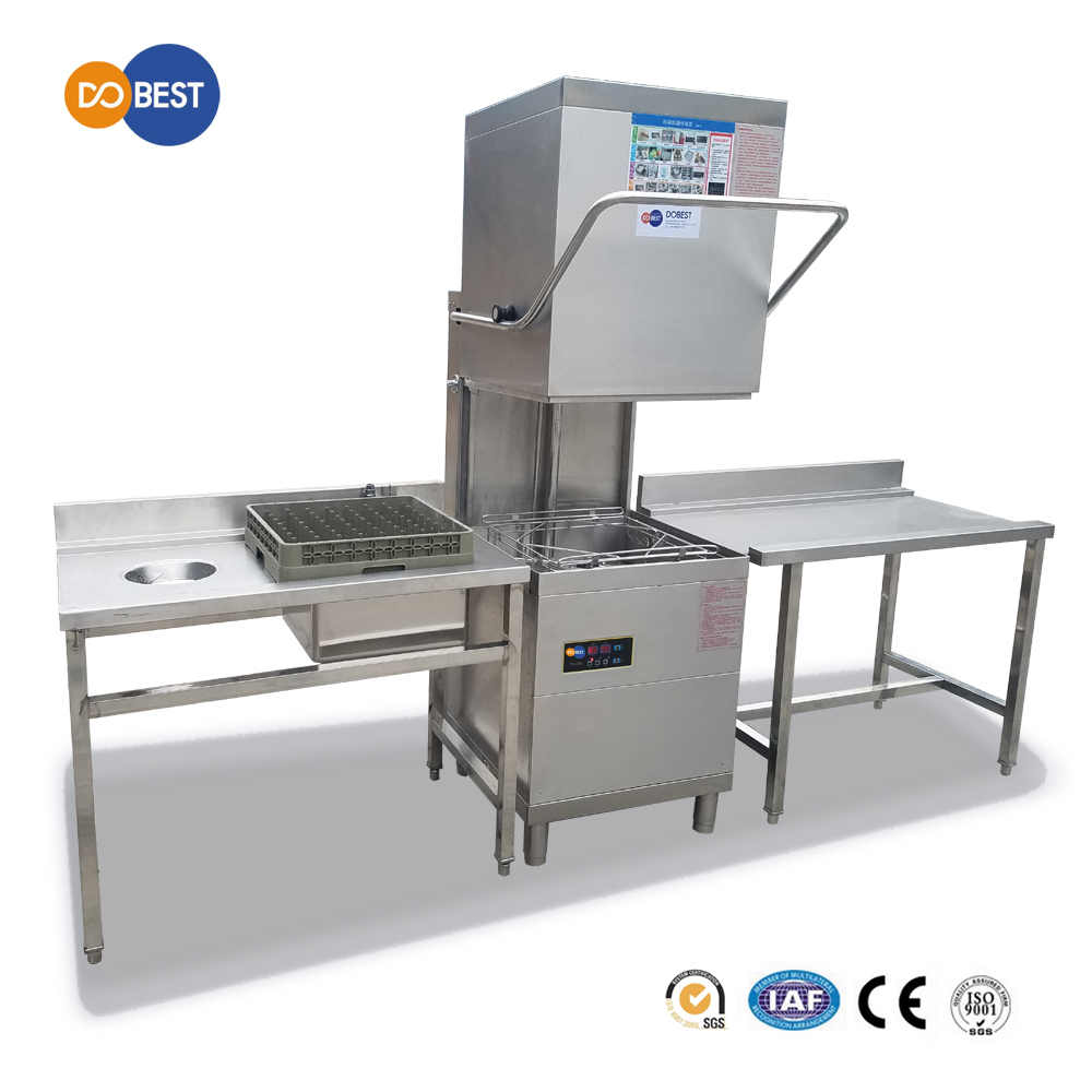 Stainless Steel Commercial Portable Dishwasher/Good Quality CE Certificate Dish Washer