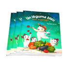 King Fu cheap hardcover book printing house and hot sale kid story book printing service in China