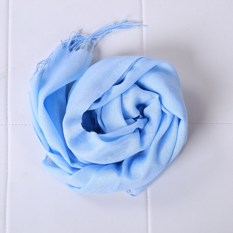 New custom spring summer vacation printing women cotton scarf