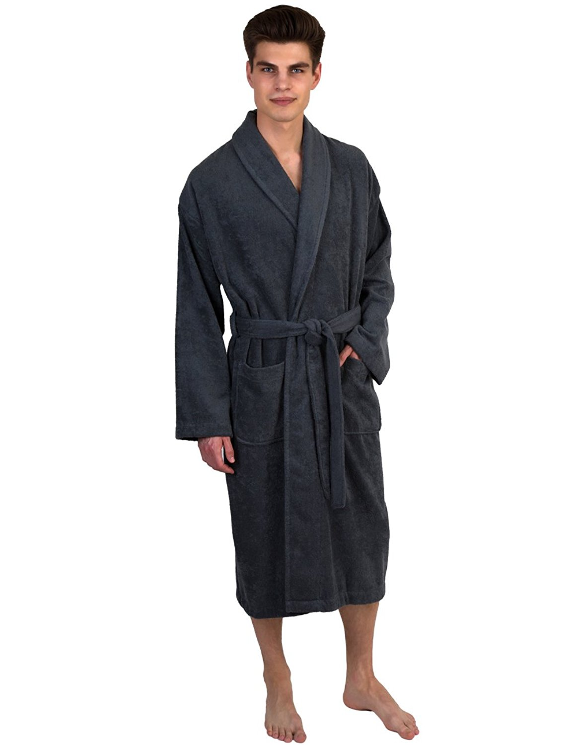 Get Quotations · TowelSelections Men s Robe 41c08eb62