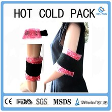 Professional reusable hot and cold pad for child knee or ankle