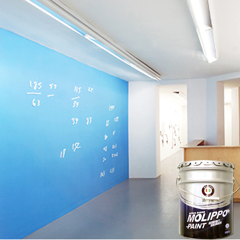 Water based interior wall enamel paint