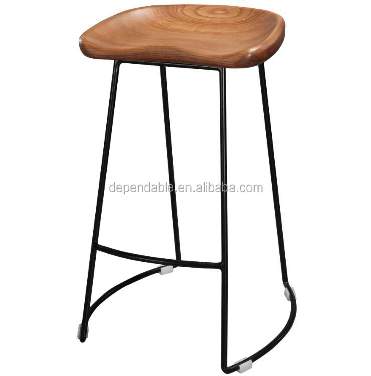 Dependable Solid Wood Stool Furniture