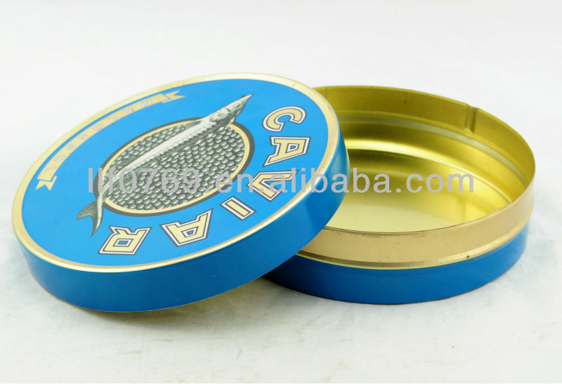 Canned Food Use and Metal Material caviar tin can