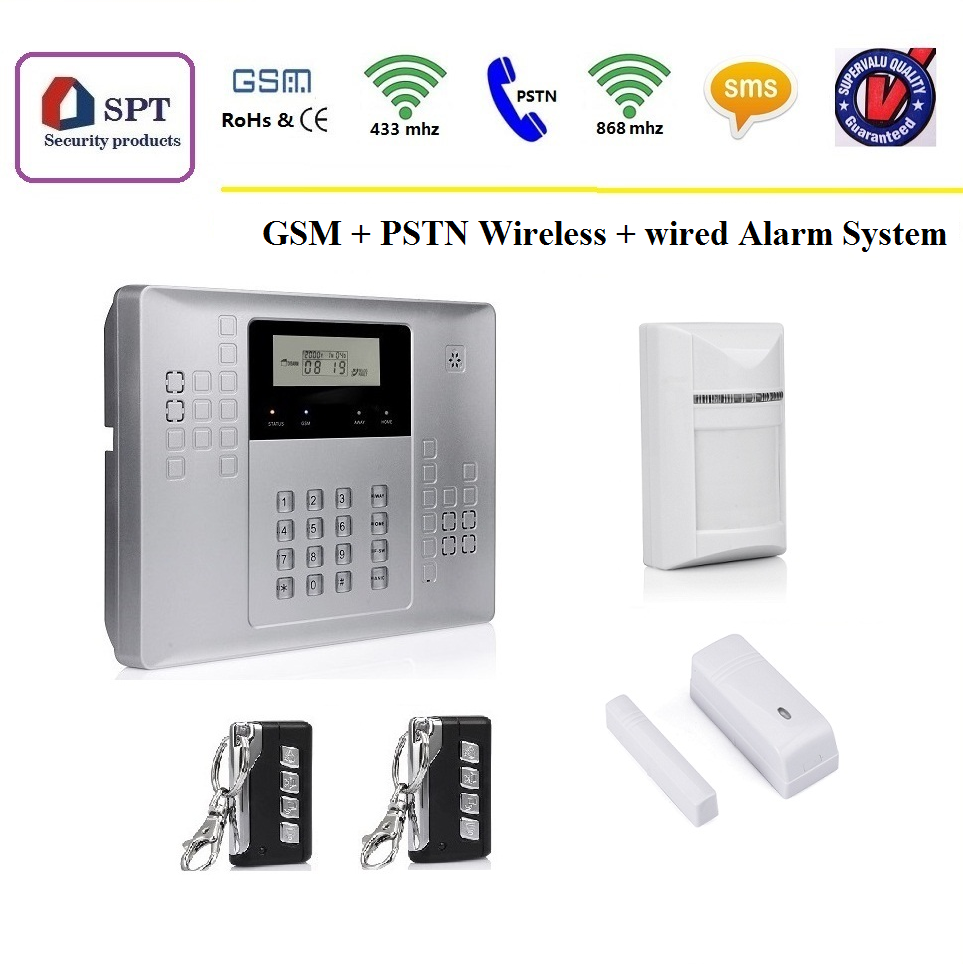 Cp-21a Smart Home Security System - Buy Smart Home Security System ...