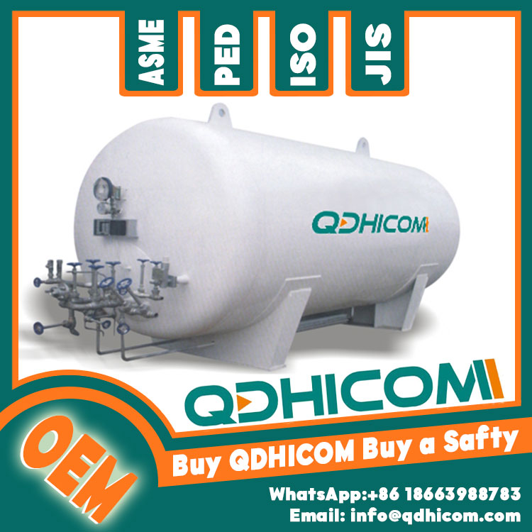 QDHICOM made most popular stainless steel liquid nitrogen storage vessel tank