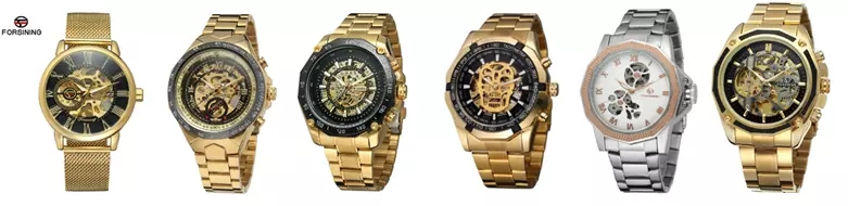 CRRJU 2150 Men Quartz Luxury Brand Watch Black Stainless Steel Minimalist Male Analog Clock Waterproof Watches Men Wrist Digital