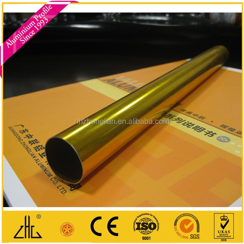 Wow!! aluminum tube 6061t6 manufacturer/ 6063 pipe tent poles connections / anodized aluminium pipe with polish