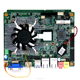With high-powered CPU and Graphics Card server motherboard, main board Support 24bit dual channel LVDS connector.