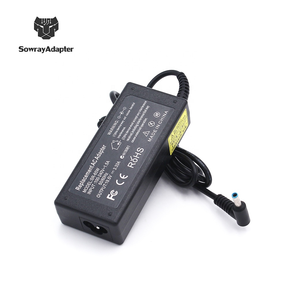19.5V 3.33A 65W AC Power Adapter Charger for HP ProBook 446 G3 450 G3 450 G4 450 G5 Notebook фото