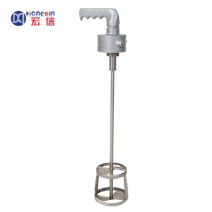 ADM130 air driven mixer,handheld pneumatic paint/cosmetic/chemical fluid mixer manufacture/OEM
