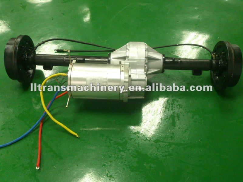 10kw electric vehicle rear axle