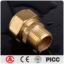 PEX AL PEX High Temperature Male Female Composite Brass Union
