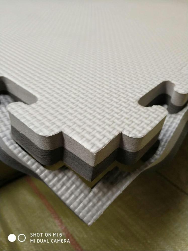Головоломка упражнения мат Премиум EVA пены блокировки плитки, защитный настил для тренажерного зала и подушки для тренировок