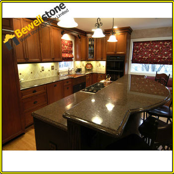 Tropical Brown Granite Composite Granite Countertops, Prefabricated Granite  Countertops Lowes, Granite Kitchen Top